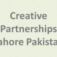 Creative Partnerships Lahore Pakistan